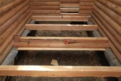 пол в деревянном доме