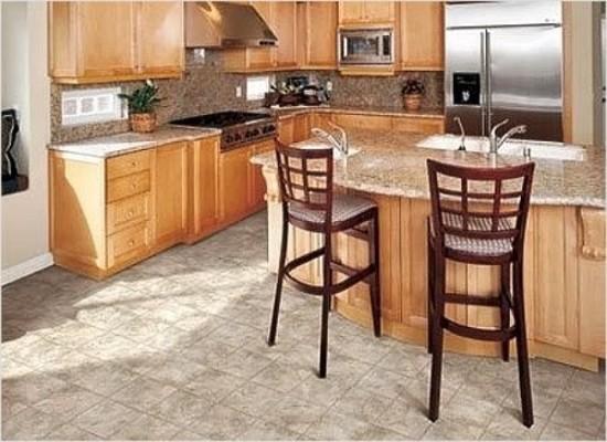 линолеум или ламинат на кухню