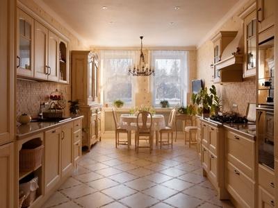 напольная плитка для кухни как выбрать