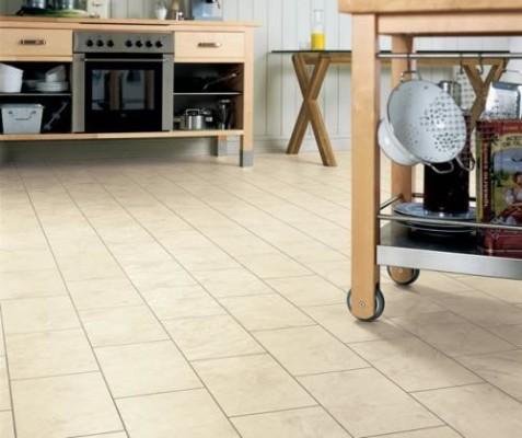 как класть плитку на пол на кухне