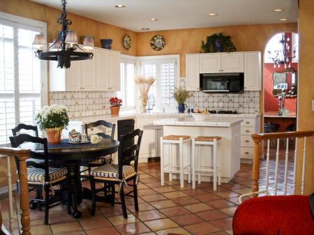какая плитка на пол для кухни лучше