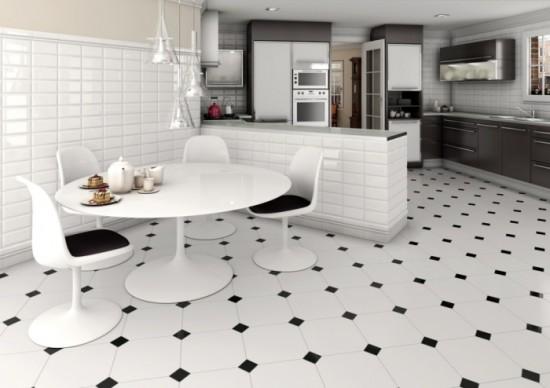 плитка на пол кухни фото дизайн