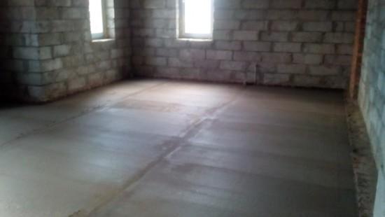 гидроизоляция бетонного пола по грунту